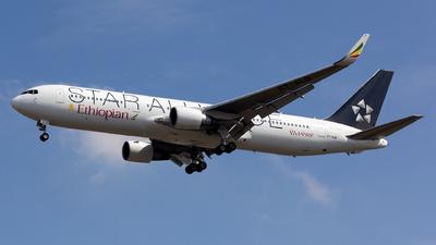 A picture of ETALO - Boeing 767360(ER) - Ethiopian Airlines - © Arvin L