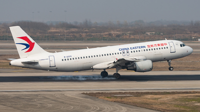 A picture of B2220 - Airbus A320214 - China Eastern Airlines - © xuhaoqing995