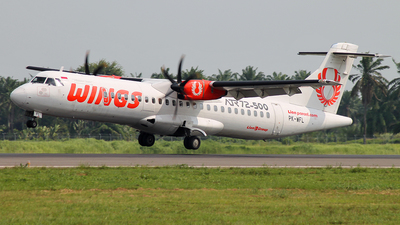 PK-WFL - ATR 72-212A(500) - Wings Air