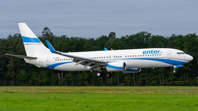 SP-ENV - Boeing 737-8BK - Enter Air