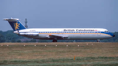 G-AZPZ - British Aircraft Corporation BAC 1-11 Series 515FB - British Caledonian Airways