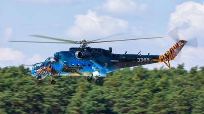3369 - Mil Mi-24V Hind E - Czech Republic - Air Force