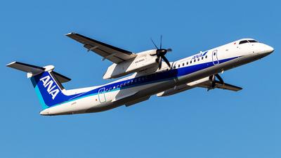 A picture of JA842A - De Havilland Canada Dash 8400 - All Nippon Airways - © Yukio023