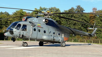 26 - Mil Mi-8T Hip - Lithuania - Air Force