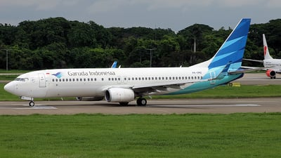 A picture of PKGMZ - Boeing 7378U3 - Garuda Indonesia - © Luqman Alif