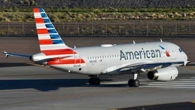 N821AW - Airbus A319-132 - American Airlines