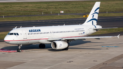 A picture of SXDGR - Airbus A320232 - Aegean Airlines - © Marco Materlik