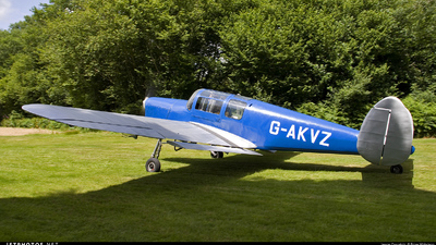 G-AKVZ - Miles M38 Messenger 4B - Private