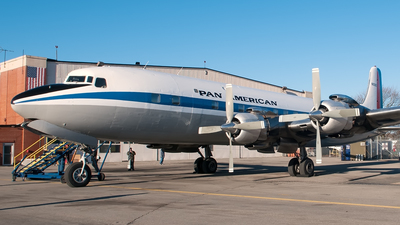 N836D - Douglas DC-7B - Historic Flight Foundation