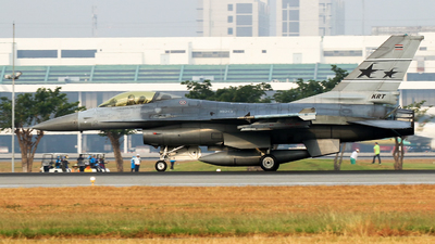 10213 - General Dynamics F-16A ADF Fighting Falcon - Thailand - Royal Thai Air Force