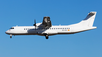 EC-KVI - ATR 72-212A(500) - Air Europa (Swiftair)