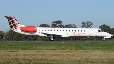 G-SAJI - Embraer ERJ-145EP - Loganair