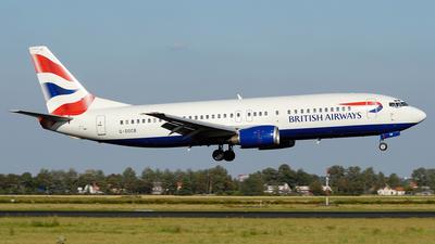 G-DOCB - Boeing 737-436 - British Airways
