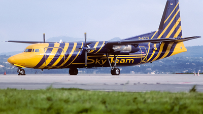 D-ACCS - Fokker F27-500F Friendship - Skyteam