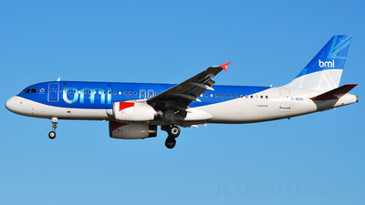G-MIDR - Airbus A320-232 - bmi British Midland International