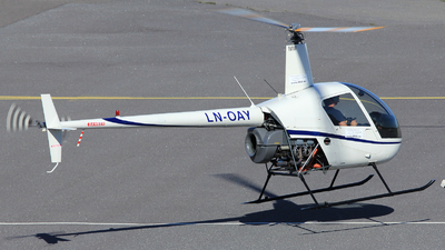 LN-OAY - Robinson R22 Beta - Private