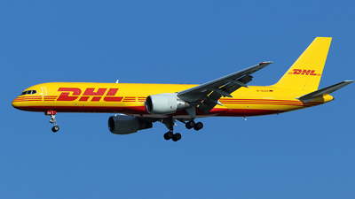 D-ALEQ - Boeing 757-2Q8(SF) - DHL (European Air Transport)