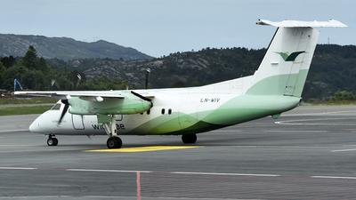 A picture of LNWIV - De Havilland Canada Dash 8100 - Wideroe - © Ahmet Akin Diler