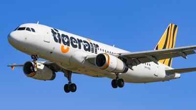 VH-VNJ - Airbus A320-232 - Tigerair