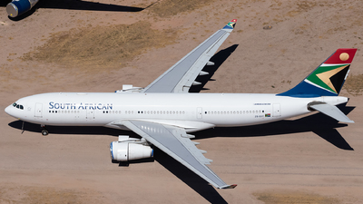 A picture of ZSSXY - Airbus A330243 - South African Airways - © Anthony Cistolo