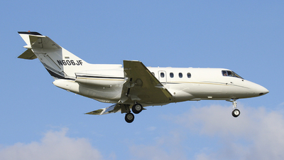 N606JF - Raytheon Hawker 800XP - Private