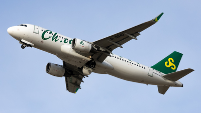 A picture of B9940 - Airbus A320214 - Spring Airlines - © WYANG0520