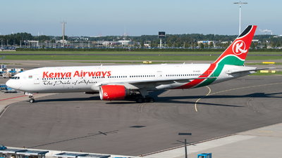 5Y-KQT - Boeing 777-2U8(ER) - Kenya Airways