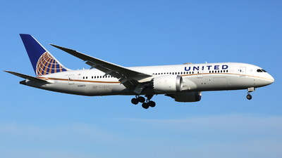 A picture of N30913 - Boeing 7878 Dreamliner - United Airlines - © R. Eikelenboom