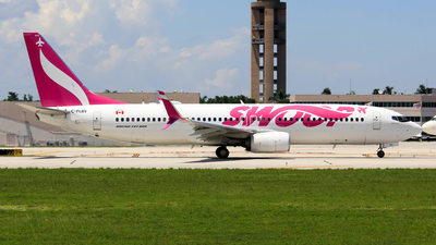 A picture of CFLBV - Boeing 7378CT - Swoop - © Gregory A. Waid