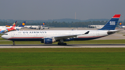 N277AY - Airbus A330-323 - US Airways