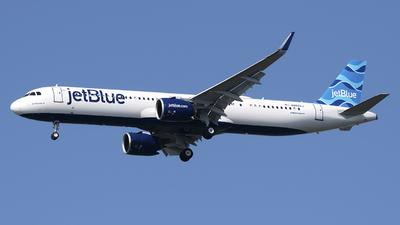 A picture of N4022J - Airbus A321271NX - JetBlue Airways - © Mark Szemberski