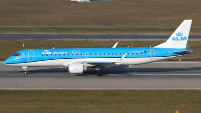 A picture of PHEZR - Embraer E190STD - KLM - © Carlos Barcelo