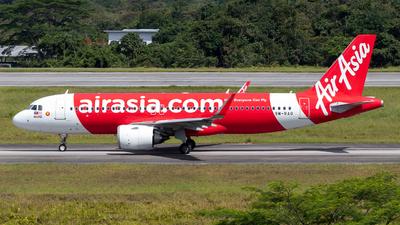 9M-RAQ - Airbus A320-251N - AirAsia