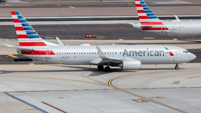A picture of N826NN - Boeing 737823 - American Airlines - © John Marzo