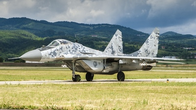 0619 - Mikoyan-Gurevich MiG-29AS Fulcrum - Slovakia - Air Force