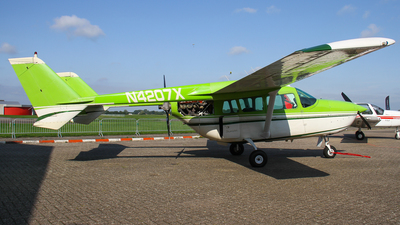 A picture of N4207X - Cessna 337F - [3370050] - © C. v. Grinsven