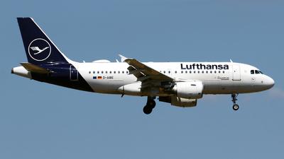 D-AIBE - Airbus A319-112 - Lufthansa