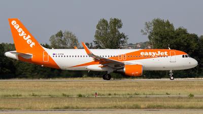 G-EZPW - Airbus A320-214 - easyJet