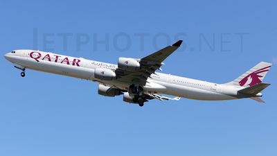 A7-AGB - Airbus A340-642 - Qatar Airways