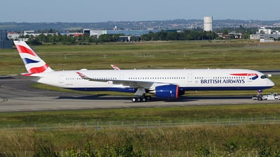 F-WZFH - Airbus A350-1041 - British Airways