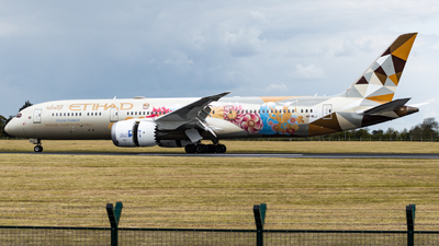 A6-BLJ - Boeing 787-9 Dreamliner - Etihad Airways