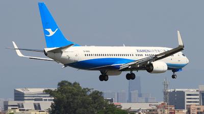 A picture of B6842 - Boeing 73785C - Xiamen Air - © Egg_Shadowsine Aviation