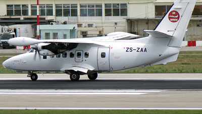 ZS-ZAA - Let L-410 Turbolet - Air Express Algeria