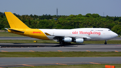 B-HUR - Boeing 747-444(BCF) - Air Hong Kong