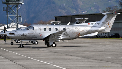 HB-FVM - Pilatus PC-12/47E - Private