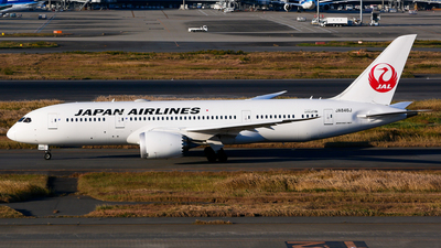 JA846J - Boeing 787-8 Dreamliner - Japan Airlines (JAL)