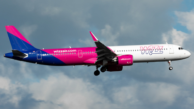 HA-LVJ - Airbus A321-271NX - Wizz Air