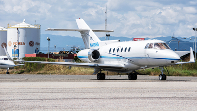 N413HS - Hawker Beechcraft 125-800SP - Private