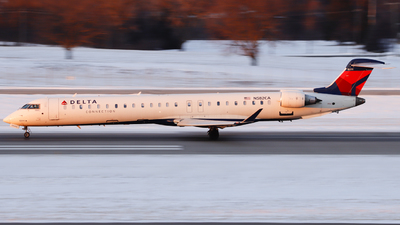 A picture of N582CA - Mitsubishi CRJ900LR - Delta Air Lines - © Nick Neiger
