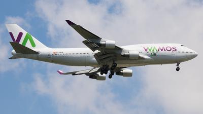 EC-MQK - Boeing 747-4H6 - Wamos Air